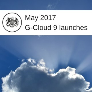 Government's digital G-Cloud marketplace is on cloud 9