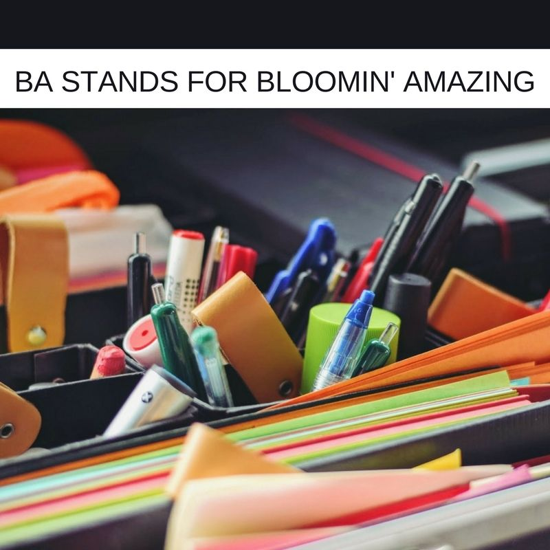 Awesome SINCE WHEN DID BA STAND FOR BLOOMIN AMAZING   Ba Stands For