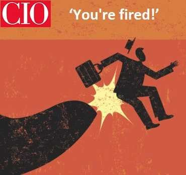 Stoneseed blog features in CIO – 'You're fired!'