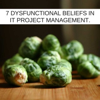 7 Dysfunctional Beliefs of IT Project Management
