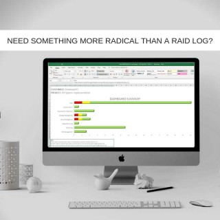 As IT Projects Evolve in Complexity, You Need Something More RADICAL Than A RAID Log.
